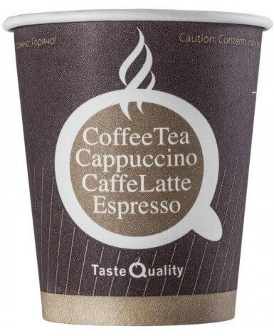 Бумажный стакан 250 мл Taste Quality (75 шт)