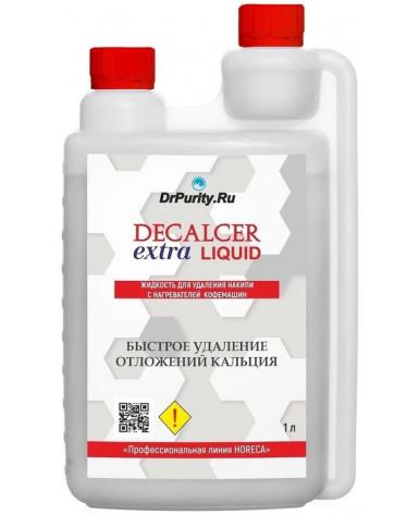 Жидкость для удаления накипи Decalcer extra Liquid 1 л (Декальцер Экстра Ликвид)