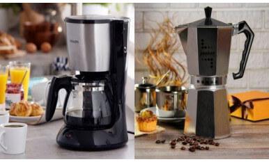 Кофеварки фильтрового и гейзерного типов