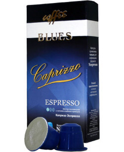 Кофе в капсулах Coffee Blues Капризо Эспрессо 10шт для Nespresso (Кофе Блюз)