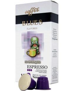 Кофе в капсулах Coffee Blues По-ирландски 10шт для Nespresso (Кофе Блюз)