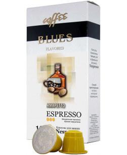Кофе в капсулах Coffee Blues Амаретто 10шт для Nespresso (Кофе Блюз)