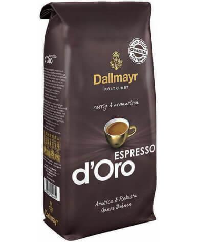Кофе в зернах Dallmayr Espresso d'Oro 1 кг (Даллмайер Эспрессо д'Оро)