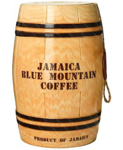 Кофе в зернах Jamaica Blue Mountain бочонок 1 кг (Ямайка Блю Маунтин)