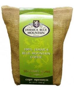 Кофе в зернах зеленый Jamaica Blue Mountain 1 кг (Ямайка Блю Маунтин)