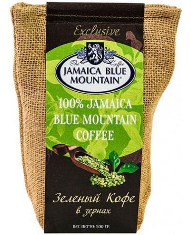 Зеленый кофе в зернах Jamaica Blue Mountain 300 г (Ямайка Блю Маунтин)