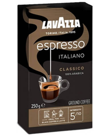 Кофе молотый Lavazza Espresso Italiano Classico 250 г (Лавацца Эспрессо Итальяно Классико)