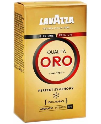 Кофе молотый Lavazza Qualita Oro 250 г (Лавацца Оро)