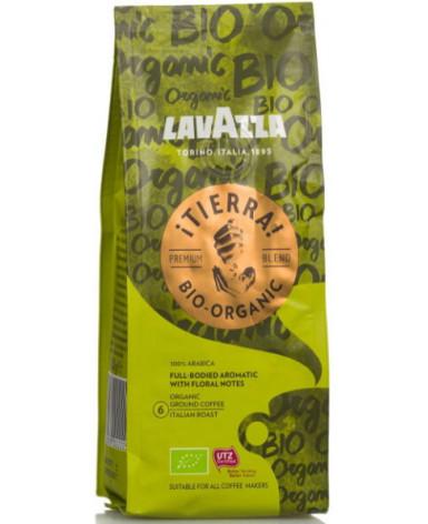 Кофе молотый Lavazza Tierra Bio-Organic 180 г (Лавацца Тьерра Био-Органик)