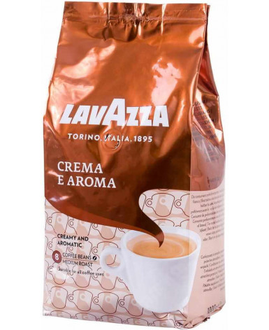 Кофе в зернах Lavazza Crema E Aroma 1 кг (Лавацца Крема е Арома)