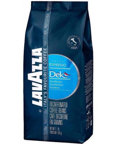 Кофе в зернах Lavazza Dek (без кофеина) 500 г (Лавацца Дэк)