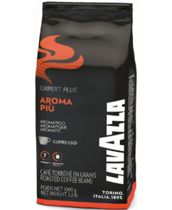 Кофе в зернах Lavazza Expert Aroma Piu 1 кг (Лавацца Эксперт Арома Пью)