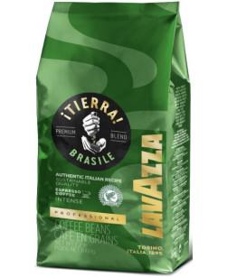 Кофе в зернах Lavazza Tierra Brasile 1 кг (Лавацца Тиерра Бразилия)