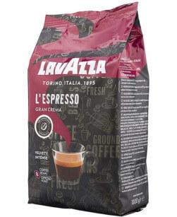 Кофе в зернах Lavazza Gran Crema Espresso 1 кг (Лавацца Гран Крема Эспрессо)