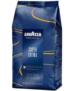 Кофе в зернах Lavazza Super Crema 1 кг (Лавацца Супер Крема)