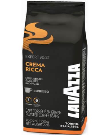 Кофе в зернах Lavazza Expert Crema Ricca 1 кг (Лавацца Эксперт Крема Рикка)