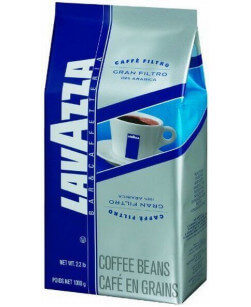 Кофе в зернах Lavazza Gran Filtro 1 кг (Лавацца Гран Фильтро)