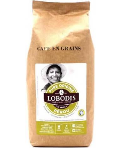Кофе в зернах Lobodis Perou Сhamaya 1 кг (Лободис Перу Схамая)