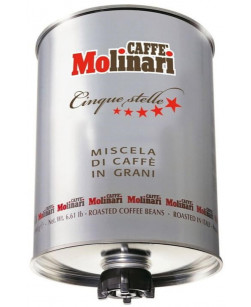 Кофе в зернах Caffe Molinari Cinque Stelle 3 кг (Молинари Пять звезд)