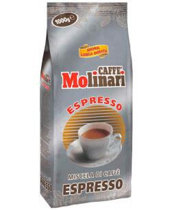 Кофе в зернах Caffe Molinari Espresso 1 кг (Молинари Эспрессо)