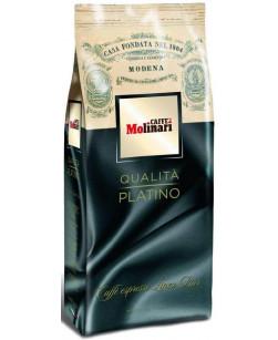 Кофе в зернах Caffe Molinari Platino 1 кг (Молинари Платино)