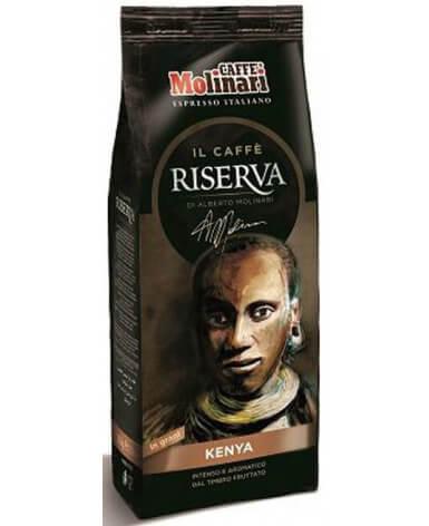 Кофе в зернах Caffe Molinari Riserva Kenya 250 г (Молинари Резерва Кения)