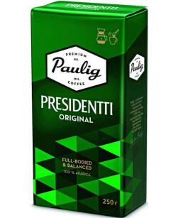 Кофе молотый Paulig Presidentti Original 250 г (Паулиг Президент Ориджинал)