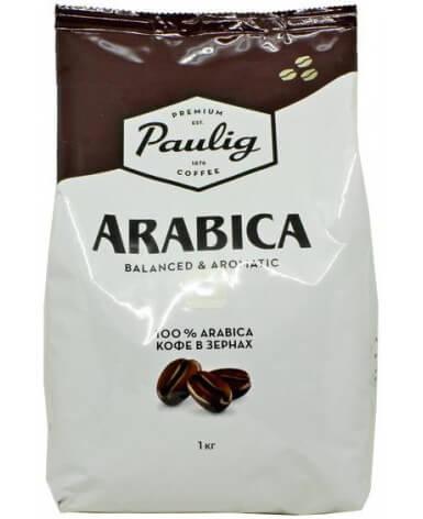 Кофе в зернах Paulig Arabica 1 кг (Паулиг Арабика)