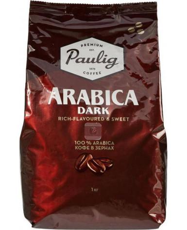 Кофе в зернах Paulig Arabica Dark 1 кг (Паулиг Арабика Дарк)