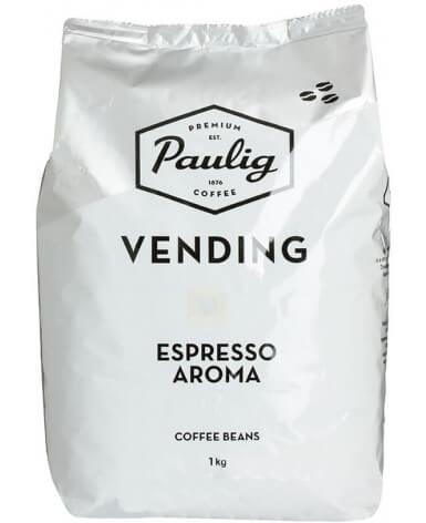 Кофе в зернах Paulig Vending Espresso Aroma 1 кг (Паулиг Вендинг Эспрессо Арома)