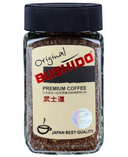 Кофе растворимый Bushido Original 100 г (Бушидо оригинал)