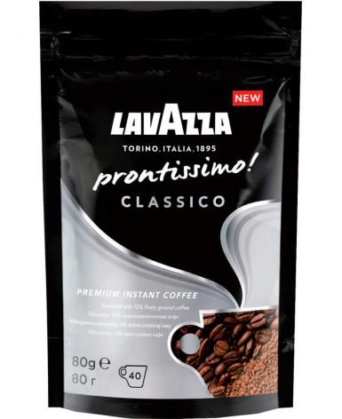 Кофе растворимый Lavazza Prontissimo Classico 80 г (Лавацца Пронтиссимо Классико)