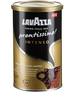 Кофе растворимый Lavazza Prontissimo Intenso 95 г (Лавацца Пронтиссимо Интенсо)