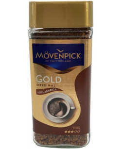 Кофе растворимый Movenpick Gold Original 100 г (Мовенпик Голд Оригинал)