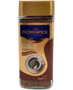 Кофе растворимый Movenpick Gold Original 200 г (Мовенпик Голд Оригинал)