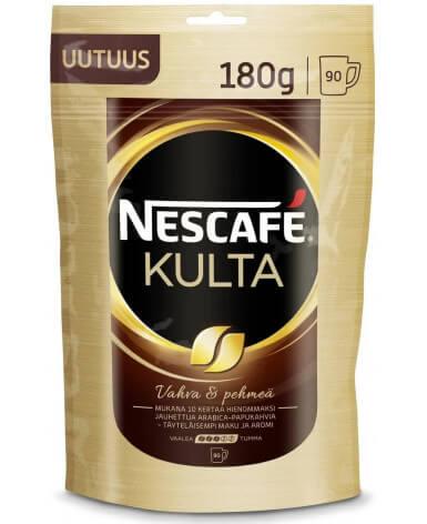 Кофе растворимый Nescafe Kulta 180 г (Нескафе Культа)