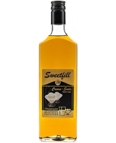 Сироп Sweetfill Крем-сода 500 мл (Свит Филл)