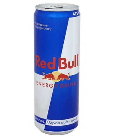 Энергетический напиток Red Bull 473 мл жест. банка 12 шт в упаковке
